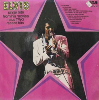 Elvis Presley - Elvis Sings Hits From His Movies - Plus Two Recent Hits - CDS 1110 (Condition 80-85%) - LP Record