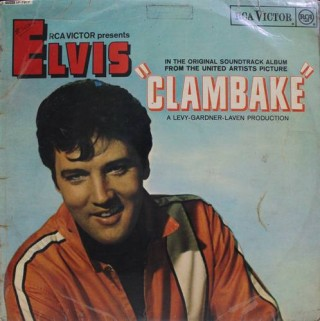 Elvis - Clambake (Original Soundtrack Album) - SF 7917 - (Condition 80-85%) - Cover Good Condition - LP Record