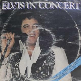 Elvis Presley – Elvis In Concert - PL 02587 - (Condition 80-85%) - Cover Book Fold - 2LP Set