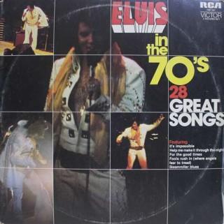 Elvis Presley – Elvis In The 70's - TSP 167 - (Condition 90-95%) - 2LP Set