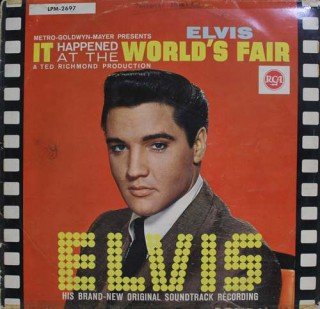 Elvis Presley - It Happened At The World's Fair - LPM 2697 - (Condition 85-90%) - Cover Good Condition - LP Record