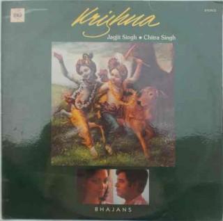 Jagjit Singh & Chitra Singh - Krishna - IND 1036 - (Condition 75-80%) - LP Record