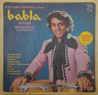 Babla And His Orchestra - 6405 621 - (Condition - 75-80%) - LP Record