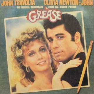 Grease - 2658 125 - ( Condition - 90-95% ) - Cover Reprinted - 2LP Set