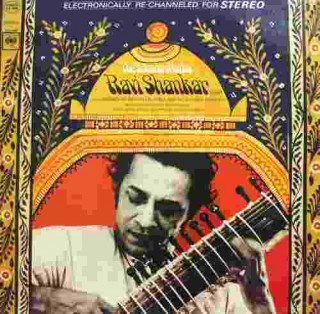 Ravi Shankar - The Sounds Of India - CS 9296 - (Condition - 90-95%) - Cover Good Condition - LP Record