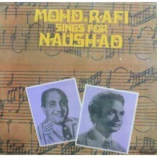 Mohd. Rafi Sings For Naushad - MFPE 1041 -  Cover Reprinted - LP Record