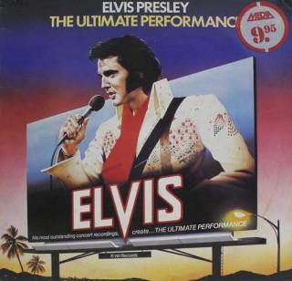 Elvis Presley - The Ultimate Performance - NE 1141 - (Condition 90-95%) - LP Record