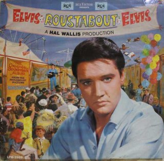 Elvis Presley - Roustabout - LPM 2999 - (Condition 85-90%) - Cover Good Condition - LP Record