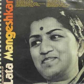 Lata Mangeshkar - Golden Hits Of Lata Mangeshkar - G/ECLP 5901 – (Condition 85-90%) - LP Record