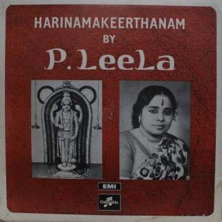 P. Leela – Harinamakeerthanam – 33ESX 6018 - (Condition -75-80%) - Columbia Black Label - LP Record