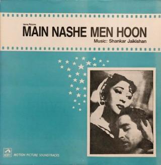 Main Nashe Men Hoon - HFLP 3509 - LP Record