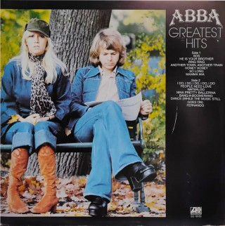 ABBA ‎– Greatest Hits ‎– SD 18189 - (Condition 90-95%) – Cover Book Fold - LP Record