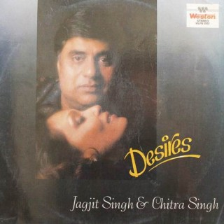 Jagjit Singh & Chitra Singh - Desires Ghazal'S By - WLPB 2802 - (Condition - -85-90%) - LP Record