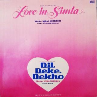 Dil Deke Dekho & Love In Simla - PMLP 1048 - (Condition 85-90%)  - LP Record