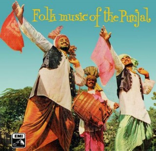 Folk Music of The Punjal - ECLP 2255 - (Condition - 90-95%) - Cover Reprinted - LP Record