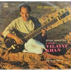 Vilayat Khan (The Brilliance Of Sound) - ECSD 2828 - (Condition - 90-95%) - Cover Reprinted - LP Record