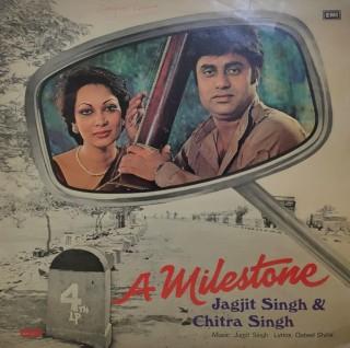 Jagjit Singh & Chitra Singh A Milestone - ECSD 2847 - (Condition - 85-90%) - LP Record