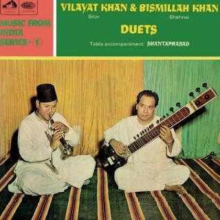 Vilayat Khan & Bismillah Khan - ASD 2295 - (Condition - 85-90%) - HMV Colour Label - Cover Reprinted - LP Record
