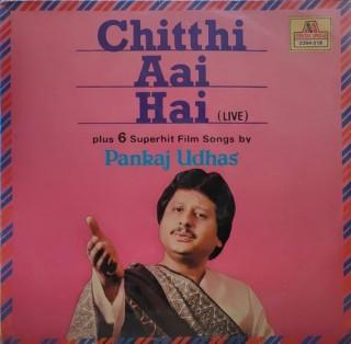 Pankaj Udhas - Chitthi Aai Hai - Live - 2394 018 - (Condition 85-90%) - LP Record