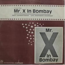 Mr.X In Bombay - HFLP 3549 - LP Record