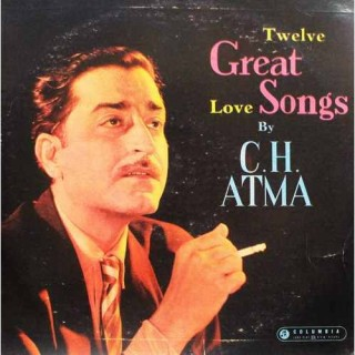 C. H. Atma - The Golden Voice - 33ESX 4251 - (Condition 80-85%) - Columbia Green Label - Cover Reprinted- LP Record