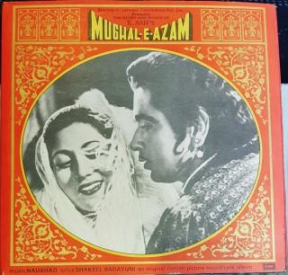 Mughal E Azam - EMGE 2003/04/05 - (Condition - 80-85%) Cover Reprinted - 3 LP Set