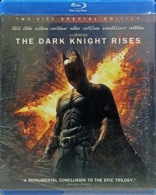 The Dark Knight Rises - Z36 Y31856 - Blu-ray – 2 Disc - Special Edition