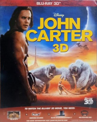 John Carter 3D – 1420026 - Blu-ray 3D - Movie Disc