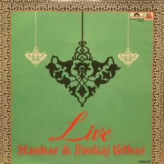 Manhar & Pankaj Udhas - Live Ghazals - 2675 218 - (Condition 85-90%) - 2LP Set