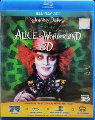 Alice In Wonderland 3D - 1420004 - Blu-ray 3D - Movie Disc