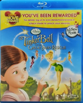 Tinker Bell And The Great Fairy Rescue – 1300051 - Blu-ray – Movie Disc