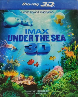 Imax Under The Sea 3D – Z36 X8181 - Blu-ray 3D - Movie Disc