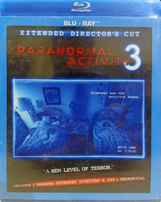 Paranormal Activity 3 - 97030 - Blu-Ray - Movie Disc