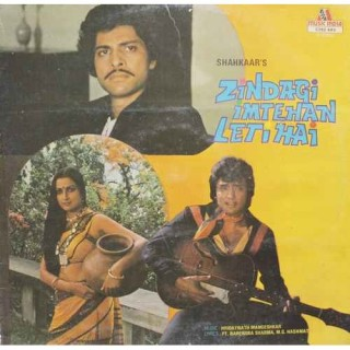 Zindagi Imtehan Leti Hai - 2392 449 - (Condition 85-90%) - LP Record