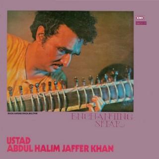 Abdul Halim Jaffer Khan – Enchanting Sitar - ECSD 2809 - (Condition 85-90%) - Cover Reprinted - LP Record