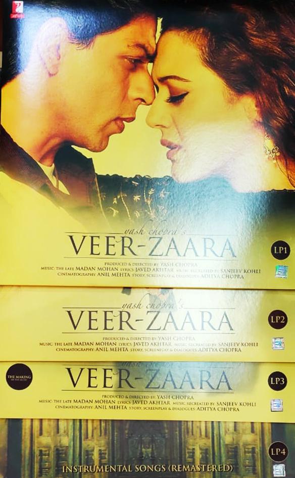 Veer Zaara - YRMLP 77025 - 4LP Set