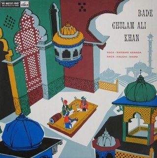 Bade Ghulam Ali Khan - EALP 1265 - (Condition 85-90%) - HMV Red Label - Cover Reprinted - LP Record