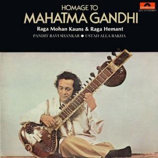 Ravi Shankar - Homage To Mahatma Gandhi - 2311 153 - (Condition 85-90%) - Cover Reprinted - LP Record