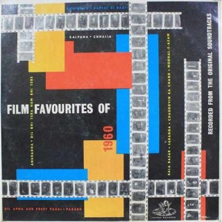 Film Favourites Of 1960 - 3AEX 5005 - (Condition - 85-90%) - LP Record