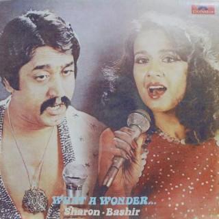 Sharon Prabhakar & Bashir Sheikh (What A Wonder) - 2392 952 - (Condition - 80-85%) - Cover Reprinted - LP Record