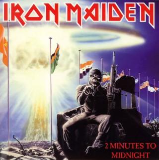 Iron Maiden - 2 Minutes To Midnight - 2564624868 - EP Record
