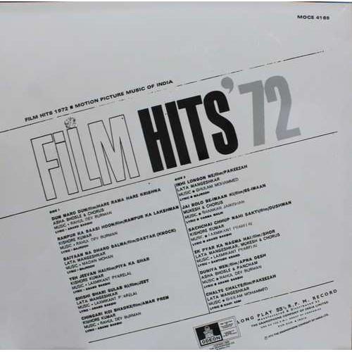 Film Hits 1972 - MOCE 4169 - LP Record