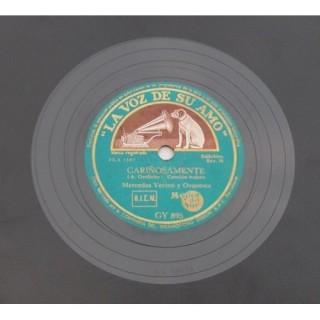 Mercedes Vecina Y Orquesta - GY 895 - 78 RPM