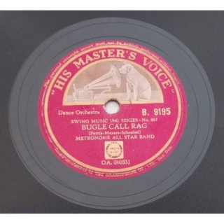 Metronome All Star Band (Dance Orchestra) - B. 9195 - 78 RPM
