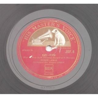 Renee Lebas - JOF. 4 - 78 RPM
