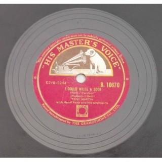 Tony Martin With Henri Rene's Orchestra & Chorus - B. 10670 - 78 RPM