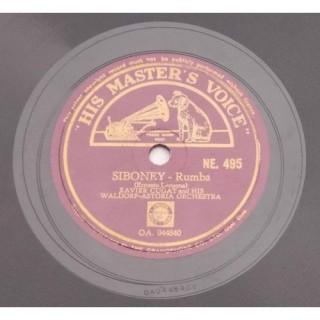 Xavier Cugat & His Waldorf-Astoria Orchestra - NE. 495 - 78 RPM
