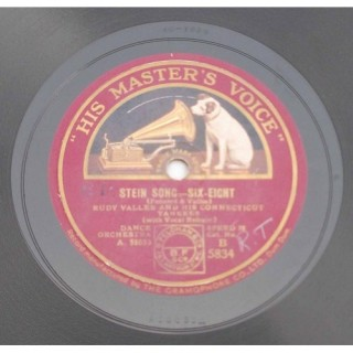 Rudy Valle And His Connecticut Yankees  (Dance Orchestra) - B. 5834 - 78 RPM
