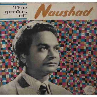 Naushad Of The Genius - 3AEX 5015 - Angel First Pressing - LP Record