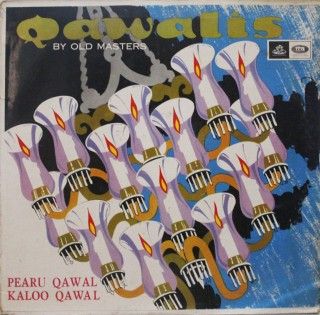 Pearu Qawal & Kaloo Qawal - 3AEX 5191 - (Condition 90-95%) - Angel First Pressing - LP Record